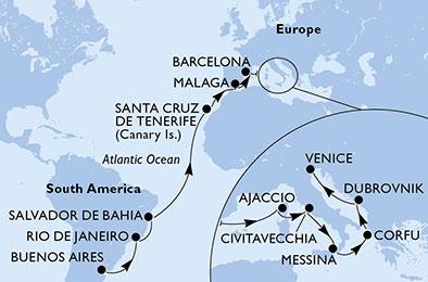mapa_orchestra_iz uenos airesa do benetk
